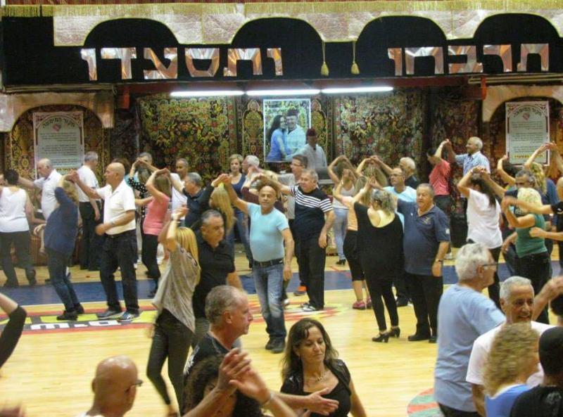 ריקודי עם בבאר יעקב עם משה טוילי