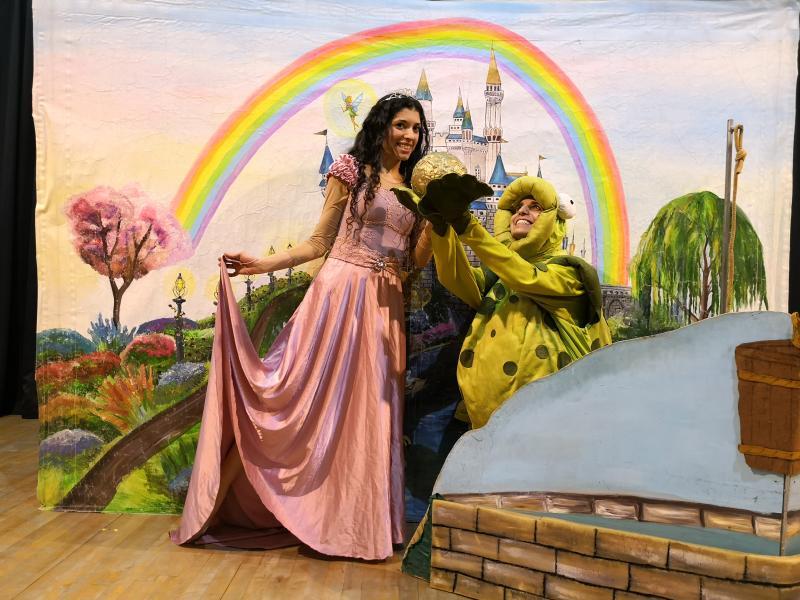 הצגה: נסיך צפרדע